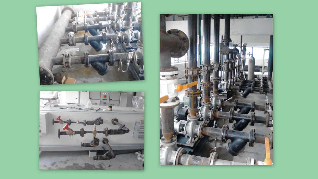 CHW Piping Work